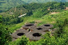 Fujian Tulou - Chinese Traditional Buildings Stock Photography