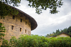 Fujian Tulou: Chinese Traditional Homes Courtyard Royalty Free Stock Images