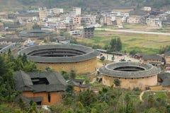Fujian Tulou in Cina Fotografia Stock Libera da Diritti