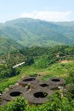 Fujian Tulou - costruzioni tradizionali cinesi Fotografia Stock