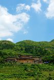 Fujian Tulou - costruzioni tradizionali cinesi fotografia stock libera da diritti