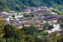Fujian Tulou dans le pays de Yongding Photographie stock