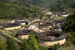 Fujian tulou NaJing region in China Stock Image