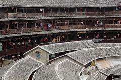 Fujian tulou-special architecture Royalty Free Stock Photography
