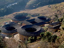 Fujian Tulou-special architecture of China Royalty Free Stock Image