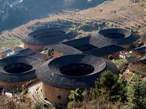 Fujian-Tulou-spezielle Architektur von China Stockbild
