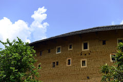 Fujian Tulou. Is a type of Chinese rural dwellings Royalty Free Stock Photo