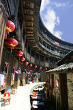Fujian Tulou. Is a type of Chinese rural dwellings Royalty Free Stock Photography