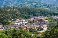 Fujian Tulou in Yongding Country Stock Photography