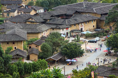 Fujian Tulou in Yongding Country Stock Images
