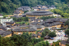 Fujian Tulou in Yongding Country Stock Image