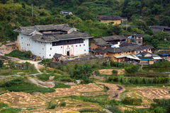 Fujian Tulou in Yongding Country Royalty Free Stock Photos