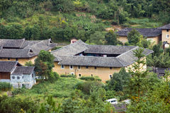 Fujian Tulou in Yongding Country Royalty Free Stock Photography