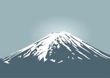 Fujiberg, symbool van Japan en het reizen van Azië Royalty-vrije Stock Afbeelding