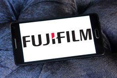 Fujifilm logo Stock Photography