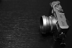 Fujifilm X100s mirrorless照相机 库存图片