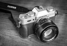Fujifilm X-T10 Mirrorless Digital Camera Stock Photos