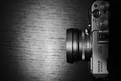 Fujifilm X100s mirrorless camera Royalty Free Stock Photos