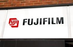 Fujifilm Zeichen Lizenzfreies Stockfoto