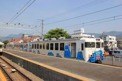 Fujikyuko线 免版税库存图片