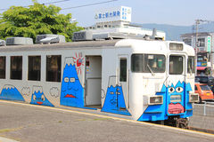 Fujikyuko Line Stock Image