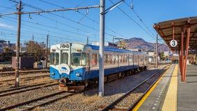 Fujikyuko Line at Kawaguchiko Station Stock Images