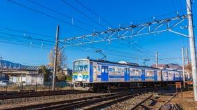 Fujikyuko Line at Kawaguchiko Station Stock Image