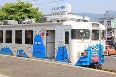 Fujikyuko-Linie Stockbild