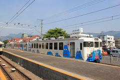 Fujikyuko linje Royaltyfri Bild