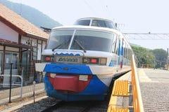 Fujikyuko linje Royaltyfria Foton