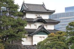 Fujimi keep of Edo castle in Tokyo Royalty Free Stock Photos
