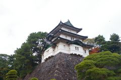Fujimi-Yagura στο αυτοκρατορικό παλάτι του Τόκιο Στοκ Εικόνες