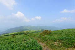 Fujimidai Highland in Nagano/Gifu, Japan Royalty Free Stock Photo
