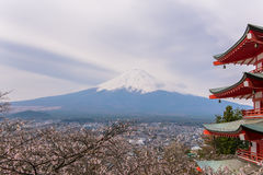 Fujisan 免版税图库摄影