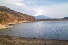Fujisan e Shoji del lago Fotografie Stock