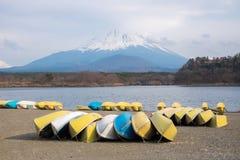 Fujisan and Lake Shoji. At Japan Stock Image