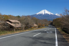 Fujisan no lago Tanuki Imagem de Stock Royalty Free