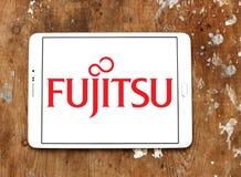 Fujitsu-Logo Lizenzfreies Stockbild