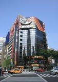 Fujiya building and busy traffic at ginza Stock Photos