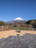 Fujiyama视图 图库摄影
