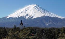 Fujiyama berg Fotografering för Bildbyråer