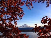 Fujiyama, el monte Fuji japón Imágenes de archivo libres de regalías
