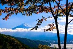Fujiyama - il monte Fuji - Fujisan Fotografie Stock