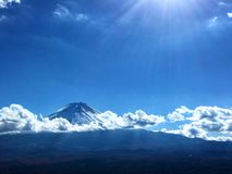 Fujiyama, le mont Fuji japan Image libre de droits