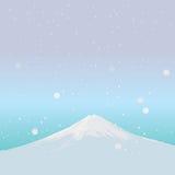 Fujiyama-Markstein von JAPAN Lizenzfreies Stockbild