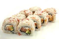 fujiyamaen rullar sushi Fotografering för Bildbyråer
