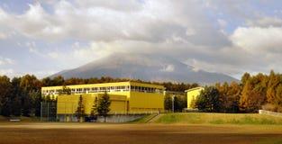fujiyamas工厂 免版税库存照片