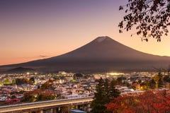 Fujiyoshida Ιαπωνία στοκ φωτογραφία