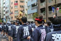 Fukagawa Hachiman Matsuri Стоковые Фотографии RF