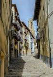 Fukta av Maestrazgo Morella, Castellon Spanien Royaltyfria Bilder
